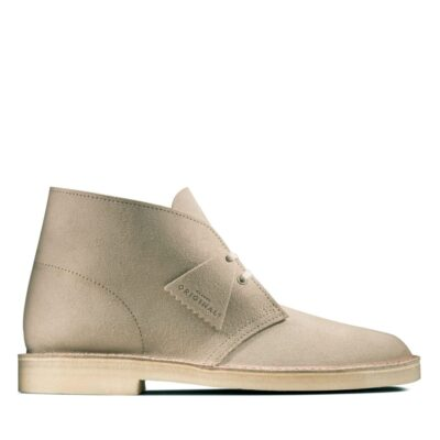 Desert Boot in Sand Suede from Clarks - £110