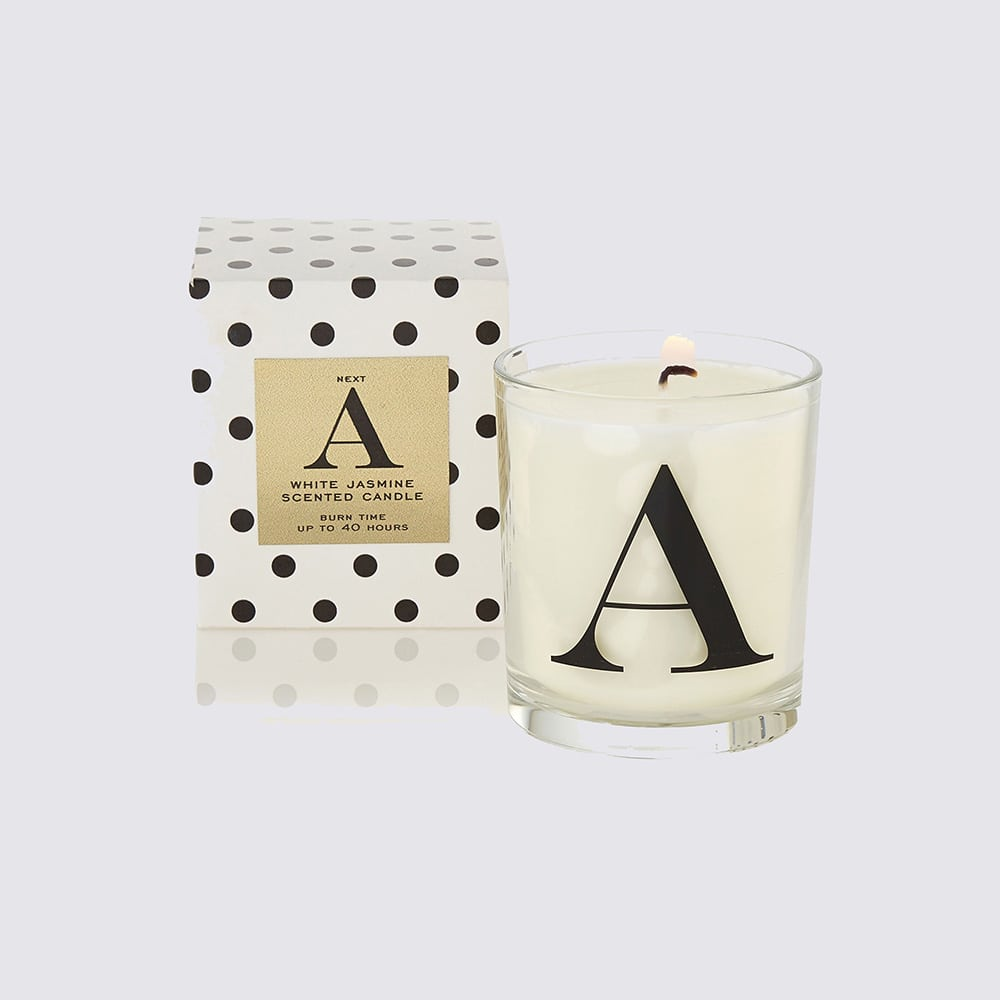 Alphabet Filled Scented Candle Next £4