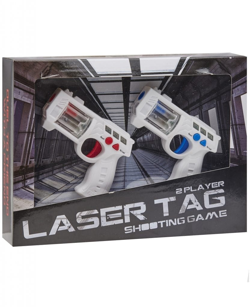 Blue Inc - Two player laser tag shooting game £14.99