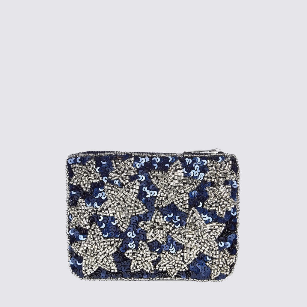 Blue Embellished Star Purse £6.99 New Look