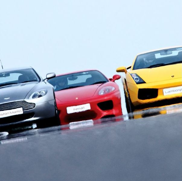 Boots - Activity Superstore Triple Supercar Drive - £149