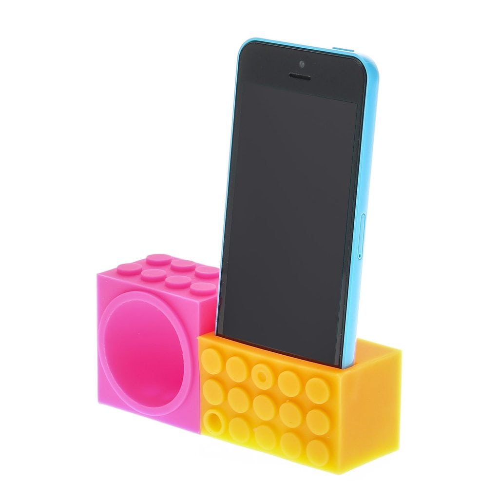 Claire's - Building block Neon Phone Speaker £4.80