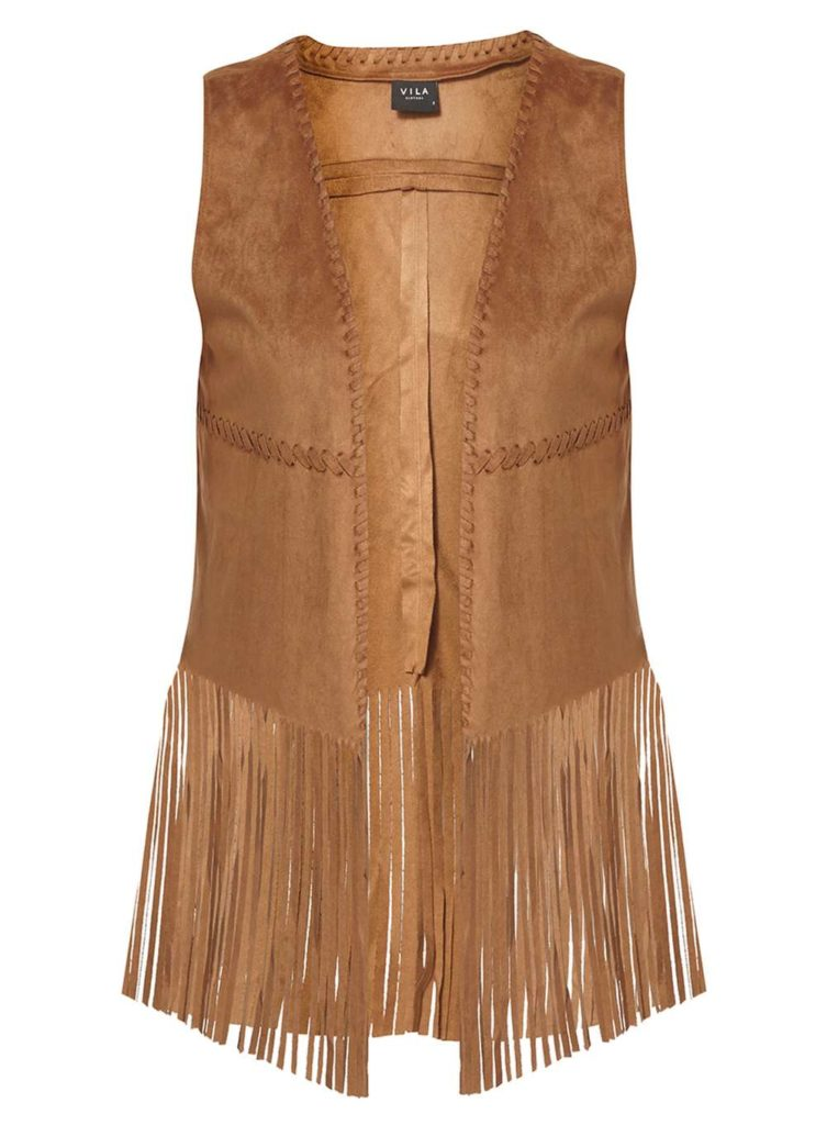 Dorothy Perkins fringe sleeveless jacket £85