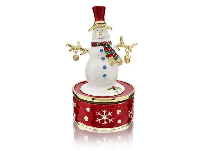 F.Hinds - Treasured trinkets Musical Snowman - £29.95