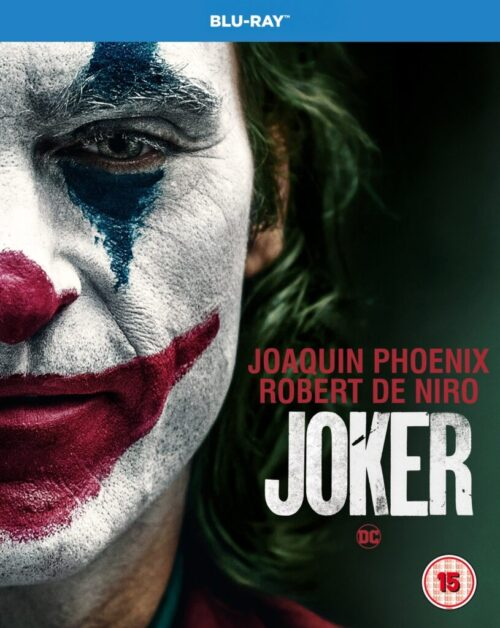 Joker available on Blu-Ray available at HMV- £14.99