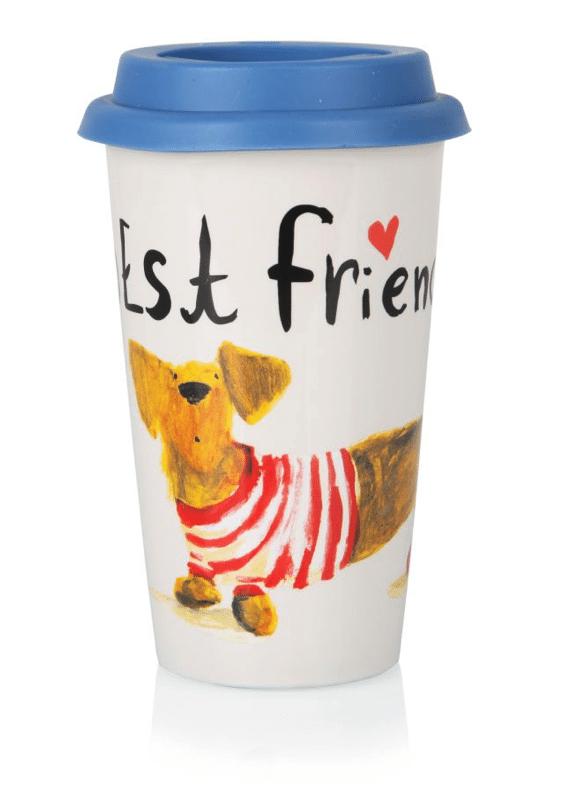 Clintons - Herbie & Friends Travel Mug - £8.00