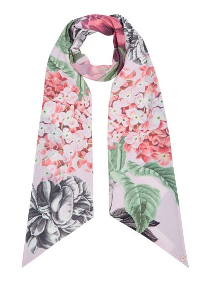 House of Fraser- Ted Baker Floral Palace Gardens Skinny Scarf - £40