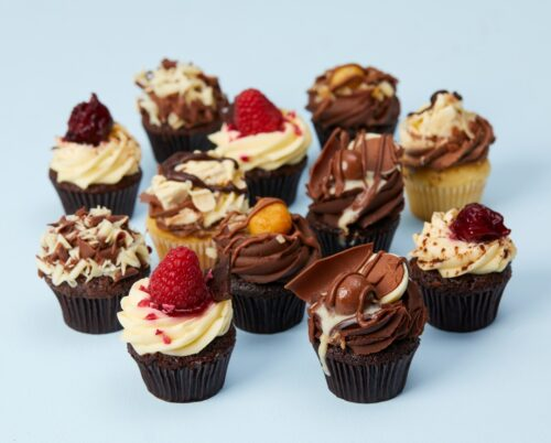 a selection of Lola's cupcakes