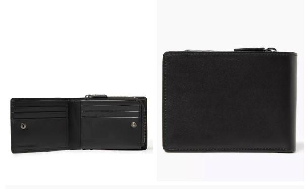 Leather Zip Wallet - M&S - £29.50