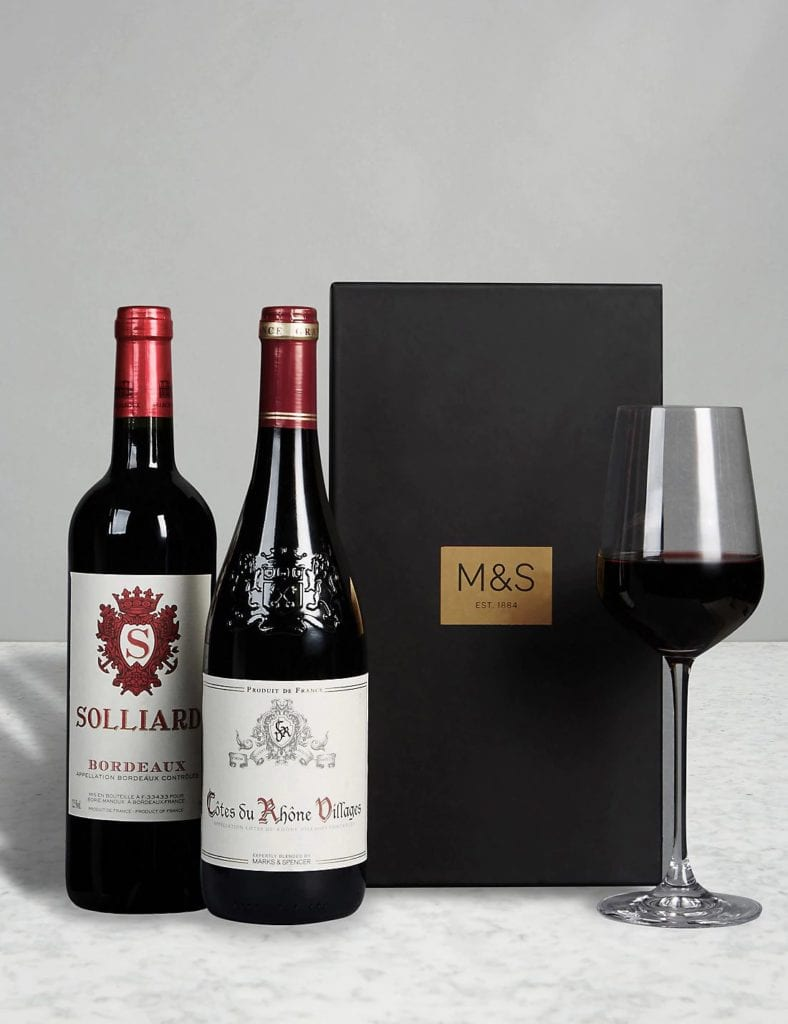 Marks & Spencer - The Connoisseur Red Wine Gift Selection - £30
