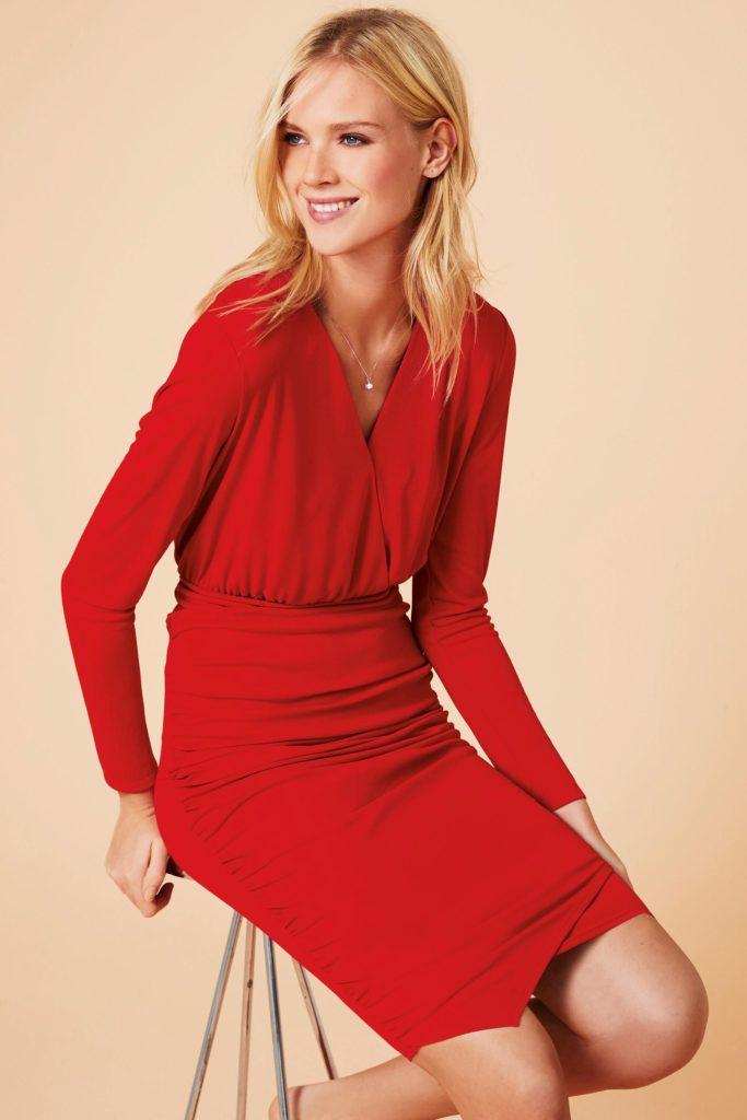 Next- Jersey Wrap Dress- £48