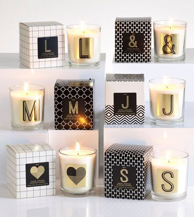 Next - White Jasmine Monogram Candle - £5