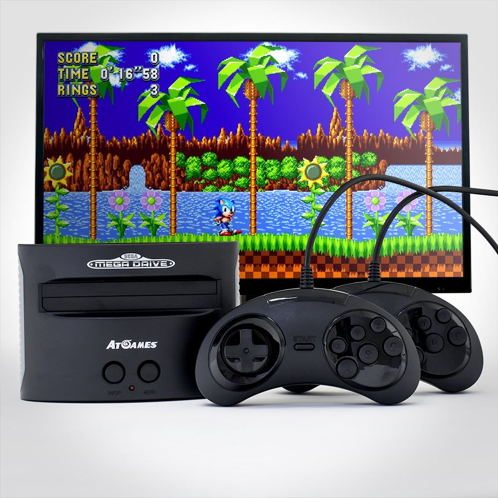 MenKind - SEGA MEGA DRIVE CLASSIC WITH 81 GAMES - £69.99