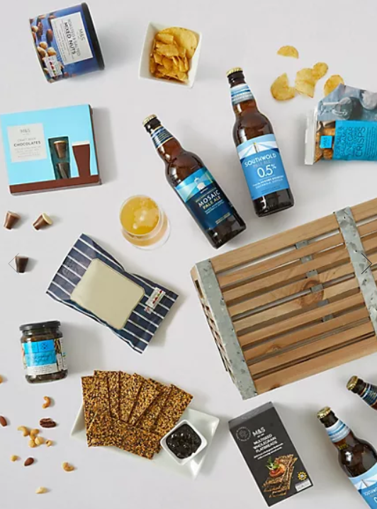 Father's Day Beer & Snacks Crate - M&S - £50