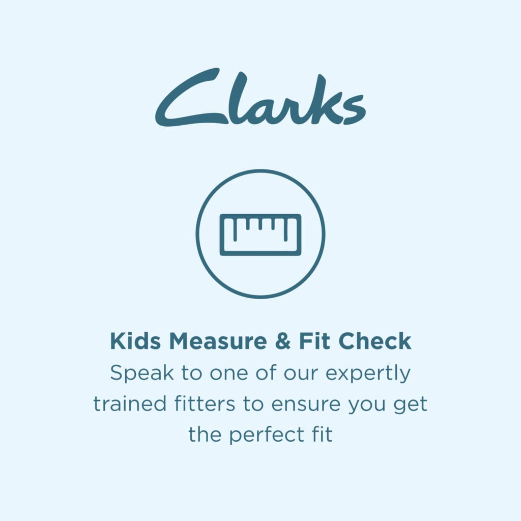 Kids Shoe Fitting Service at Clarks