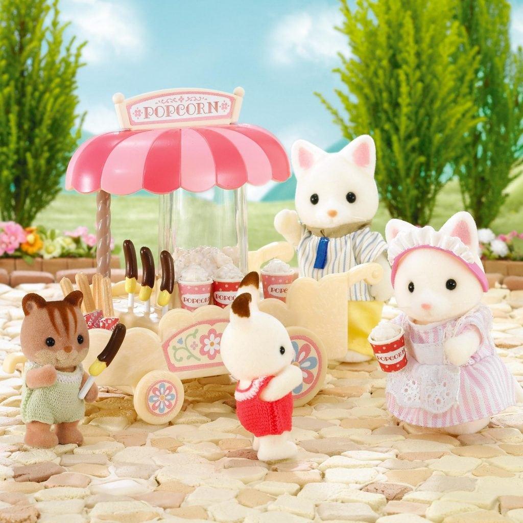 Sylvanian Families Popcorn Cart £6.99 Toys Uk