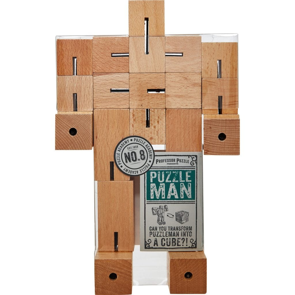 TK Maxx - Wood Block Puzzle Man £20.00