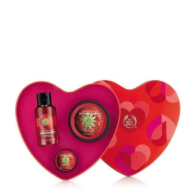 The Body Shop - Strawberry Heart Gift Set - £10
