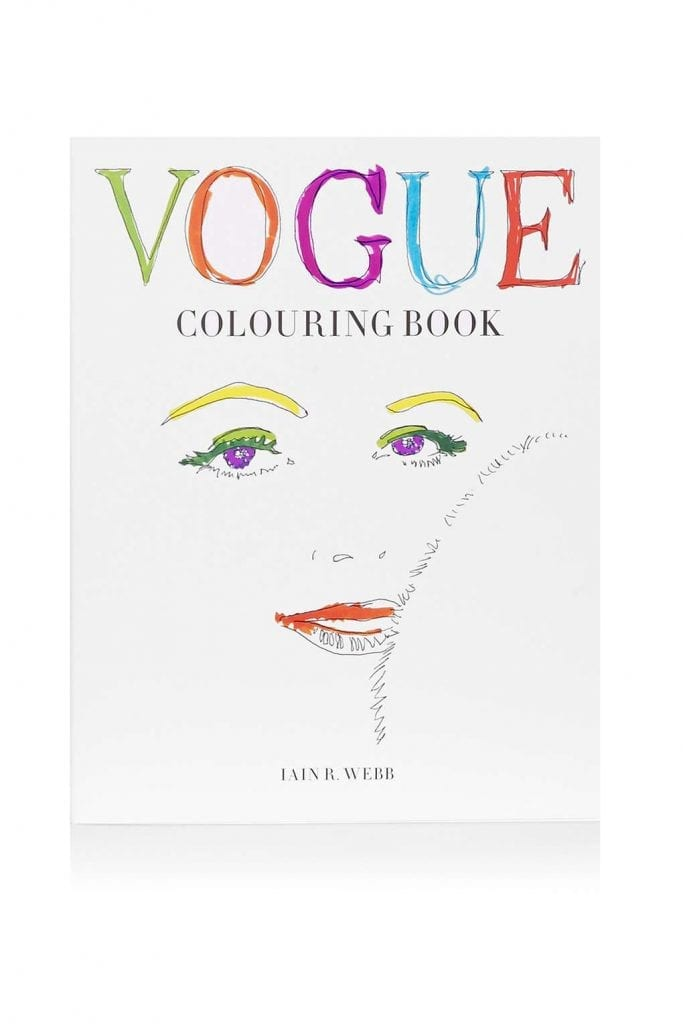 Topshop - Vogue coloring book £10