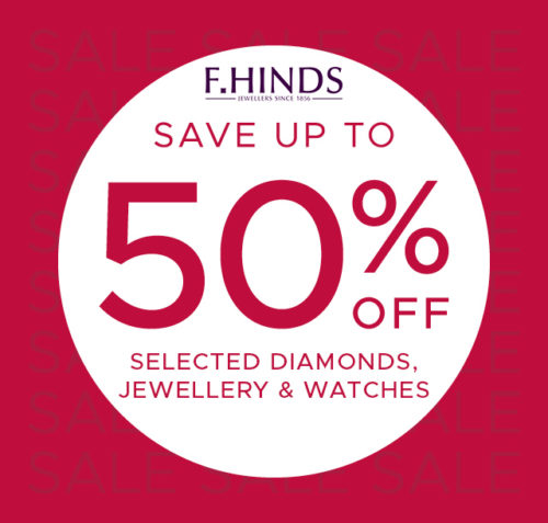 F.Hinds Winter Sale