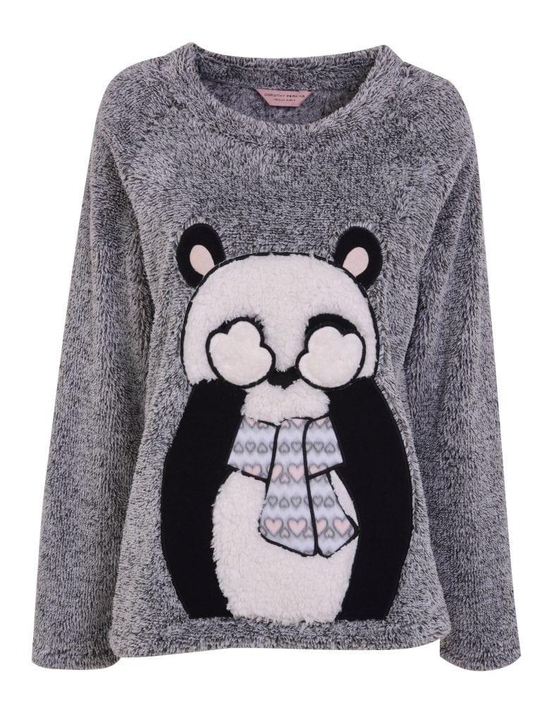 Dorothy Perkins -Panda Pajama Top £32.00