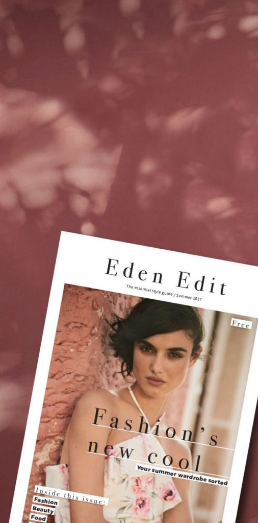 Eden Edit Magazine Teaser