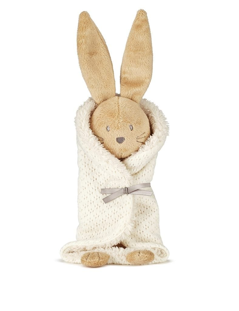 Marks & Spencer - Bunny wrap soft comforter toy £15.00