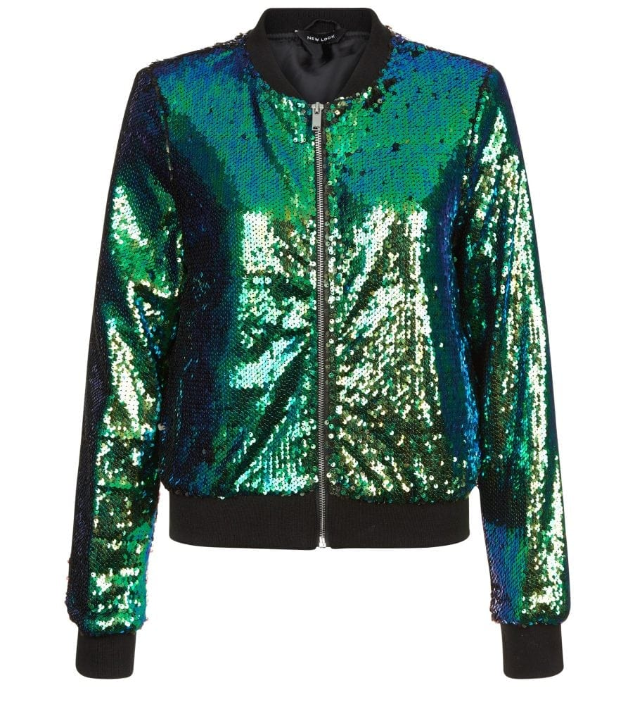 New Look - Sequin Bomber Jacket £39.99