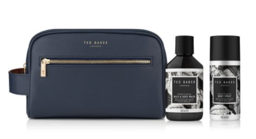 Ted Baker Bath and Body Washbag Gift available from Boots - £12