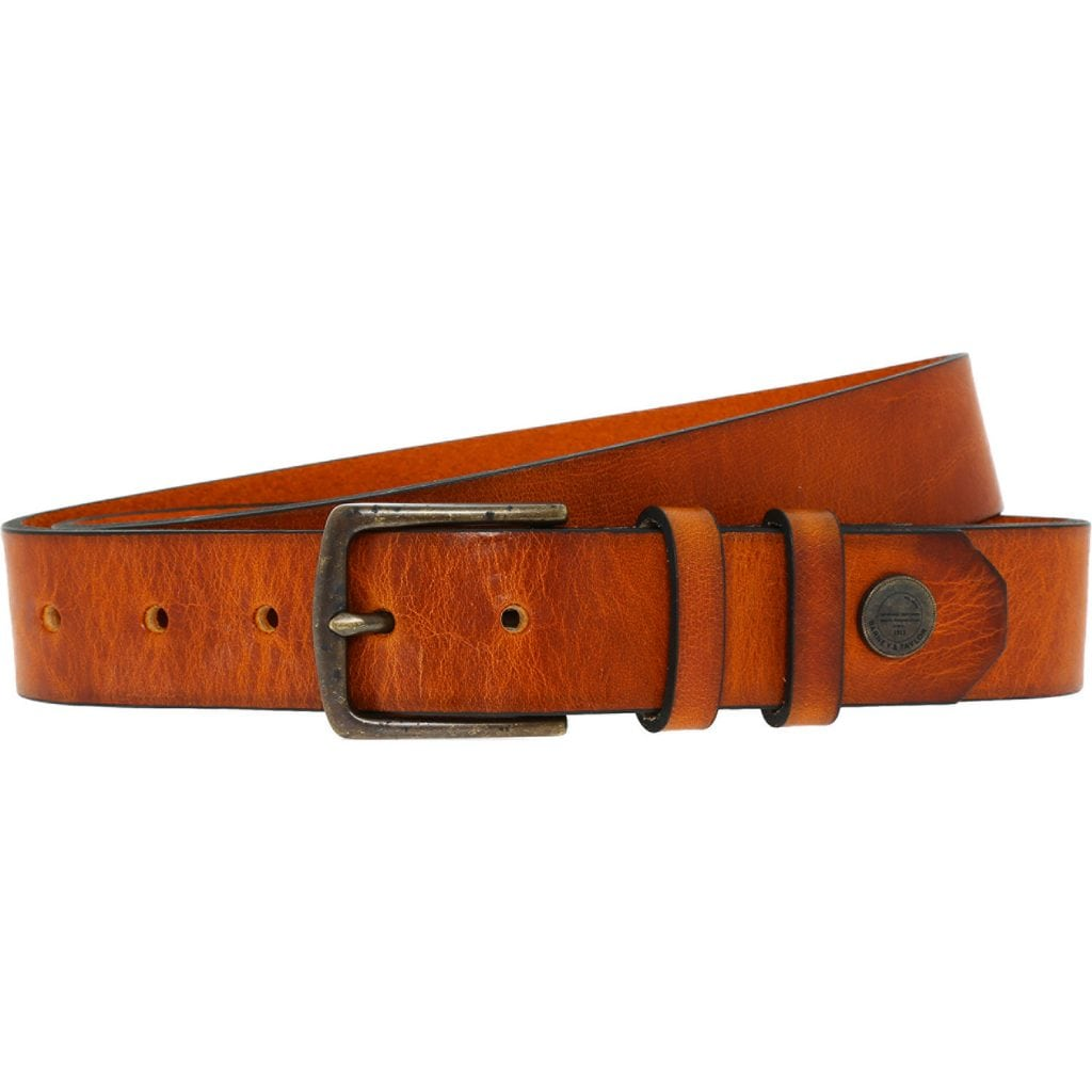 TK Maxx - Tan Leather Belt £16.99