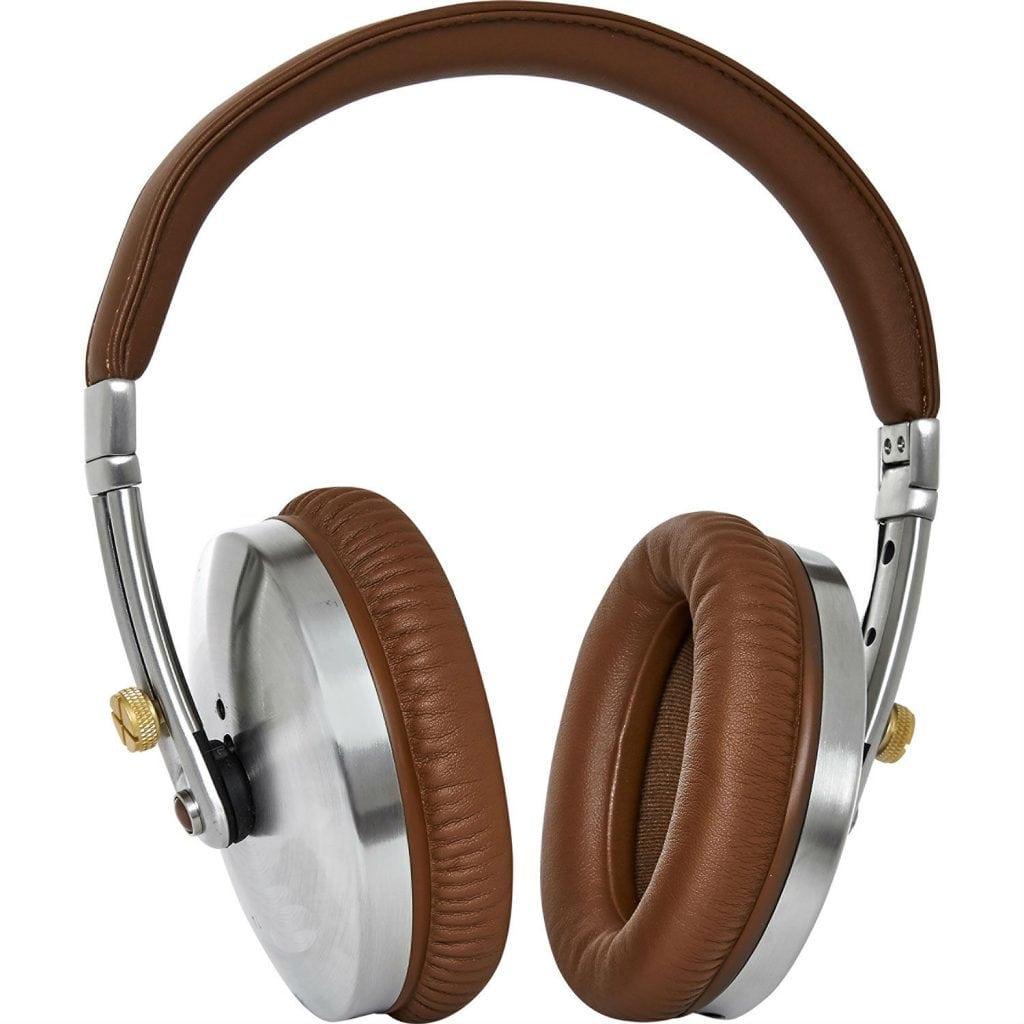 TK Maxx - Tan & Silver Tone Rockall Headphones £79.99